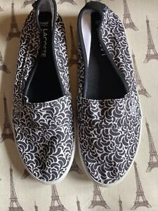 Lacoste Marice Pumps Black And White Print Size 4