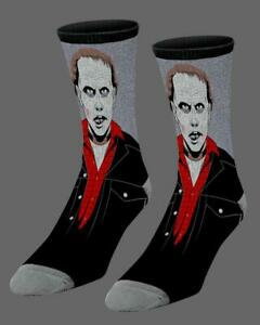 Official DAY OF THE  DEAD BUB SOCKS (ONE SIZE) George A Romero Horror Zombie blu