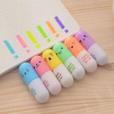 Mini For Cute Stationery Pen Supplies Graffiti Writing School Office 6 Face