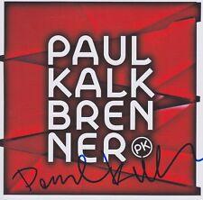PAUL KALKBRENNER CD NEU Album Booklet signed signiert IN PERSON Autogramm