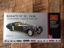 CMC BUGATTI 57 SC 1938 1:18 1/18