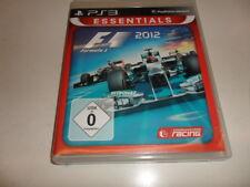 PlayStation 3 PS 3   F1 2012 - Formula 1