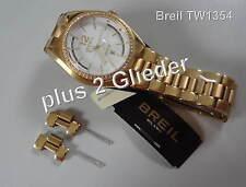 Breil Damenuhr goldfarben mit Swarovski TW1354 Gliederarmband golden + 2 Glieder
