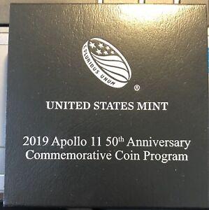 2019-P  U.S Mint Apollo11 50th Commemorative Proof  Dollar.