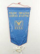 #e6440 Old pennant from Poland Polski zwiazek lekkiej atletyki pzla