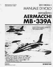 FRECCE TRICOLORI AerMacchi MB339A 1982 (AER1TMB339A1) Flight Manual  DVD