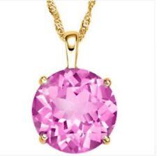 Lab-Created Sapphire Fine Diamond Necklaces & Pendants