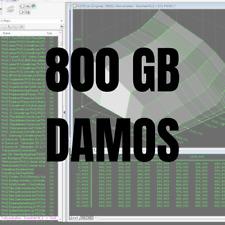 DAMOS 800 GB/GO Files Collection BOSCH SIEMENS FORD EEC VI EDC 16 17  SID206 ME7