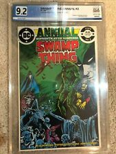 Swamp Thing Annual #2 Graded 9.2 by PGX (not CGC) - early JLA Dark?