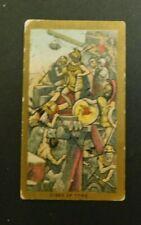 American Tobacco Company Cigarette Card c.1901 Battle Scenes Siege of Tyre