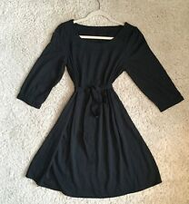 Vera Moda Black Dress With Belt / Small