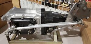 All GM Camaro Corvette + Muncie 4 speed Hurst rods shifter plate conversion kit