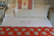 Embroidery Bed Linens Antique Linens