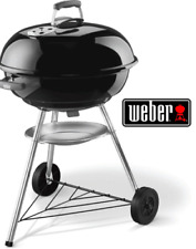 WEBER 57CM CHARCOAL BBQ GRILL STAINLESS STEEL COOKING GRATE CHIMNEY STARTER SET