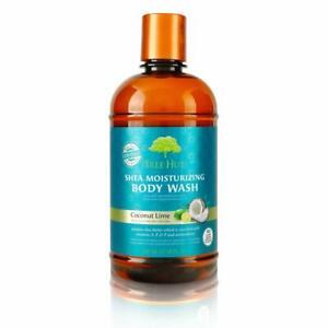 Tree Hut Shea Moisturizing Body Wash Coconut Lime, 17oz, Ultra Hydrating...