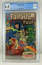 Fantastic Four #65 1967 [CGC 6.5 FN+] Silver Age Marvel Key 1st Ronan Accuser