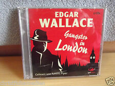 Gangster in London von Edgar Wallace 2009. Audio-CD Hörkrimi NEU -  2 CDs