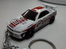 Hot Wheels Nissan Skyline GT-R R34 Gran Turismo Coupe Keyfob Keychain Keyring