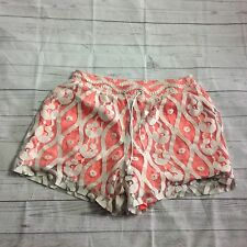 Lane Bryant Women's Lace Shorts Plus Size 14/16 Ivory Peach Tassal summer NEW