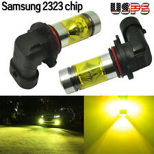 100W 9005 9006 Samsung 2323 LED High Power 4300K Yellow Fog/Driving Lights Bulbs