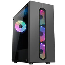 Gaming PC Computer Specialist Pandora Case With 4 x Aurora Multi-Coloured Fans