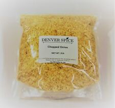 Onion, Chopped and Dried - 2 Pound - Bulk Dehydrated Vegetables by Denver Spice®