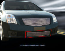 Polished Billet Grille Front Bumper Grill  For 2007-2009 Nissan Sentra