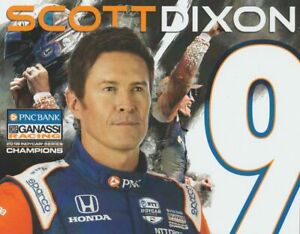 """2019 Scott Dixon PNC Bank """"1st Version"""" Indy Car postcard"""