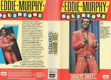 DELIRIOUS - EDDIE MURPHY - VHS - PAL - NEW - Never played! - Original Oz release