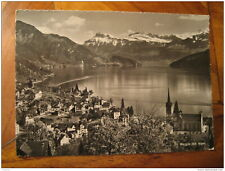 Weggis Und Die Alpen Mountain Post Card Lucerne Luzern Switzerland IPHONE