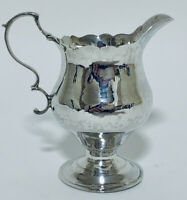 Antique 18th Century Georgian Solid Sterling Silver Milk or Cream Jug 1769