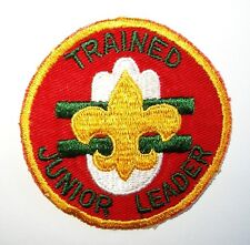 BOY SCOUT    BLACKHAWK AREA COUNCIL  50'S  TRAINED JUNIOR LEADER PP    ILL.