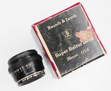 Bausch & Lomb Super Baltar 35mm f2 Lens Head  #494VF