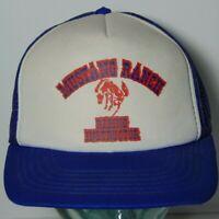 Vtg 1980s MUSTANG RANCH BROTHEL NEVADA RIDING INSTRUCTOR SNAPBACK TRUCKER HAT