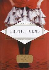 Erotic Poems (Everyman's Library Pocket Poets Series) PETER WASHINGTON Hardcove