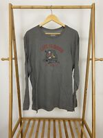 Life Is Good Men's NC State Football Tailgate Long Sleeve T-Shirt Size XL EUC