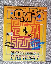 34367 Rombo - anno 6 N. 23 1986 - Ferrari: quanto durerà l'attesa