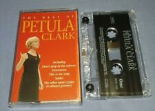 PETULA CLARK THE BEST OF cassette tape album T9266
