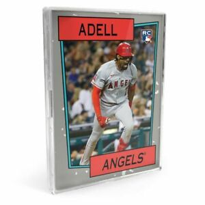 2021 Topps TBT Set #35 1985 Duran Duran - Jo Adell (RC), Pete Alonso, Babe Ruth