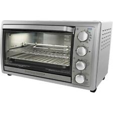 9 Slice Silver Rotisserie Convection Oven