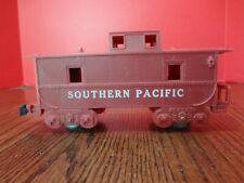 """Vintage MARX Southern Pacific Caboose Maroon """"O Scale"""" ~FAST S/H~"""