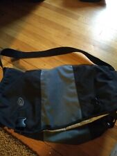 Timbuk2 large Messenger Commuter Laptop Shoulder Crossbody Bag Black gray