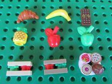 LEGO Minifigure Food Lego Cake Chocolate Bar Apples and More - New