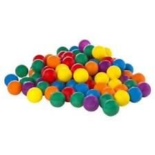 Intex 100-Pack Small Plastic Multi-Colored Fun Ballz for Ball Pit Bounce House