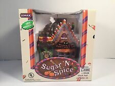 Lemax Sugar N Spice Halloween Black Hat Costume Co Village 55202 Retired Box