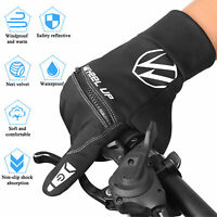 Winter Ski Sports Racing Cycling Motorcycle MTB Bike Bicycle Finger Work Gloves