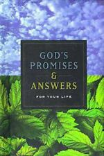 God's Promises And Answers For Your Life Nelson Word Publishing Group Hardcover