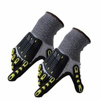 Cut Resistant Gloves Anti Impact Vibration Safety Work Gloves Shock Absorbing