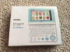 Casio Ex-Word XD-SK2800WE Electronic Dictionary Japanese WHITE