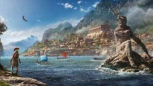 Assassin's Creed Odyssey Poster Canvas Picture Art Print Premium Quality